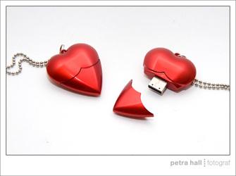 Hjärta - USB minne
