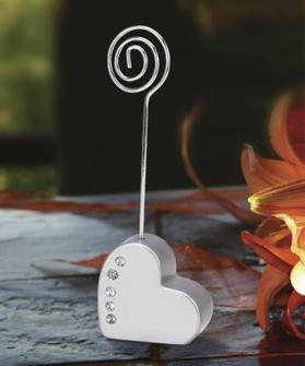 Placeringskorthållare - Hjärta
