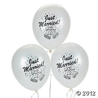 Ballong - Just married -vit