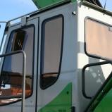Sennebogen Max cab utrustad med Cabin-Screen