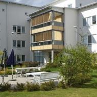 Attendo - Sandelskahuset valde våra Solar-Screen till deras balkonger