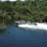 Stridsbåt 90 i amazonas