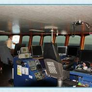 Fiskebåt i marocko utrustad med våra Cabin-Screens