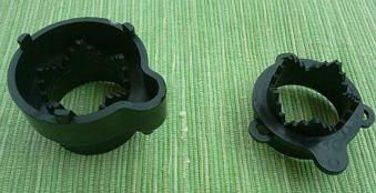 Tryckdosa till tysta luftrör - 16mm