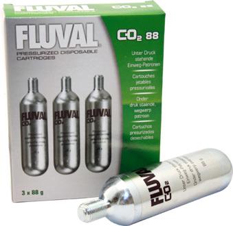 Fluval Co2 88g refill 3 tuber -