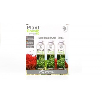 Tropica Plant Growth System 60 CO2 Refill 3-pack - Refill 3-pack