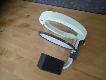 Flytande yngelkasse med inbyggt filtersystem - 150 mm flytande yngelkasse med inbyggt filtersystem
