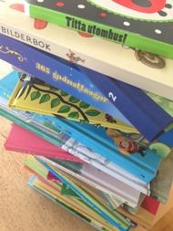 Barnböcker att dela ut