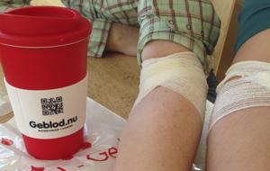 Bild på blodgivare