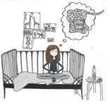 jane på sängen
