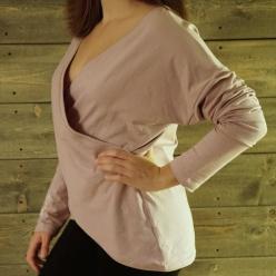 GIDDA Vändbar omlott-tröja - Dimrosa, small/medium, EADUI