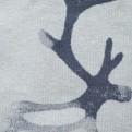GIDDA Vändbar omlott-tröja - Mörkgrå, large/Xlarge, VATJAV