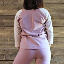 LATVA tröja med raglanärm - LATVA, dimrosa, S
