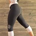ASLAT - tvåfärgade tights - ASLAT, Mörkgrå, XL