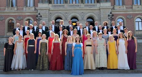 Allmänna Sången från Uppsala är en av Europas främsta körer.