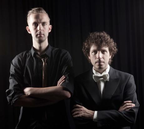 Emil Jonason, klarinett och Peter Friis Johansson, piano