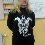 Britt Grandin gav oss en bra information om Påskön.