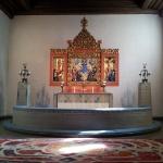 Altartavlan i Masthuggskyrkan.