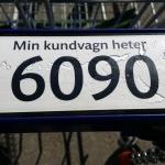 Det är bra att komma ihåg numret på sin vagn, när man handlar!!