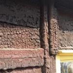 Detalj av äldsta huset!