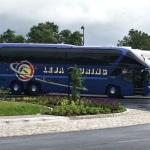 Vår buss under resan!