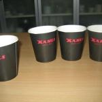 Avslutningsvis testade vi 4 olika sorters kaffe...