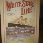White Star Line tog folk från europa till Amerika.