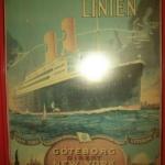 Svenska Amerika Linjen gick direkt från Göteborg till Amerika.