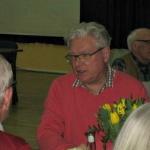 Björn såg belåten ut med sin presentation!