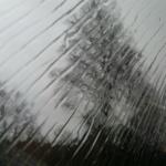 Det kan bli fina mönster vid regn!