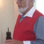 Vår guide, Stigh Tegeborn, berättade och visade oss...