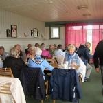 Lunch intogs på Sjögärde Golfklubb.