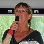 Linda sjöng för oss innan vi åkte hemåt!