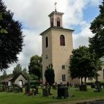 ... från Ljuders kyrka som är från 1800-talet.