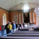 Interiör från Ljuders kyrka...
