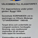 Information Klasatorpet.