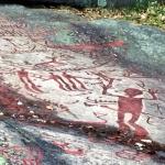 .. är den tidigast dokumenterade hällristningen i .....