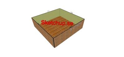 Sketchup : Mall-Övning Fil -