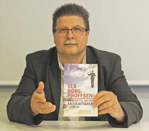 Jan Öberg med boken Slå Börsproffsen!