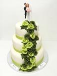 Bröllopstårta/ Wedding cake