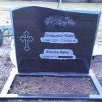 Svart granit (New Belfast)