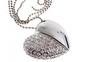 USB-silverhjärta - Silver