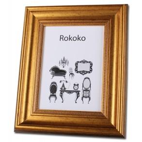 Rokoko Fotoram - Guld 20x30
