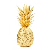 Poster 30x40 Guld Ananas