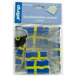 Student Förkläde med sverigeflaggor -