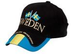Sweden keps med flaggor