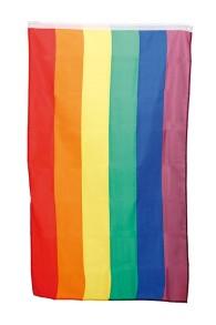 RAINBOW FLAG 90 X 150 CM -