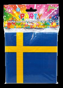 Sverige servetter 20-p -