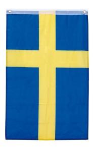 Sverige flagga 90x150cm -