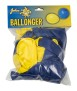 Ballonger gula/blå 24p